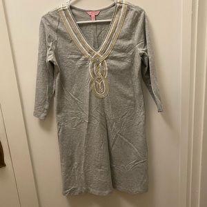 Lilly Pulitzer Dress with Metallic Trim